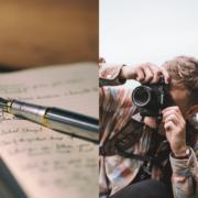 Foto's nemen of teksten schrijven
